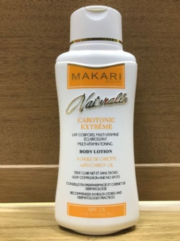 MAKARI NATURALLE CAROTONIC EXTREME BODY PRODUCTS